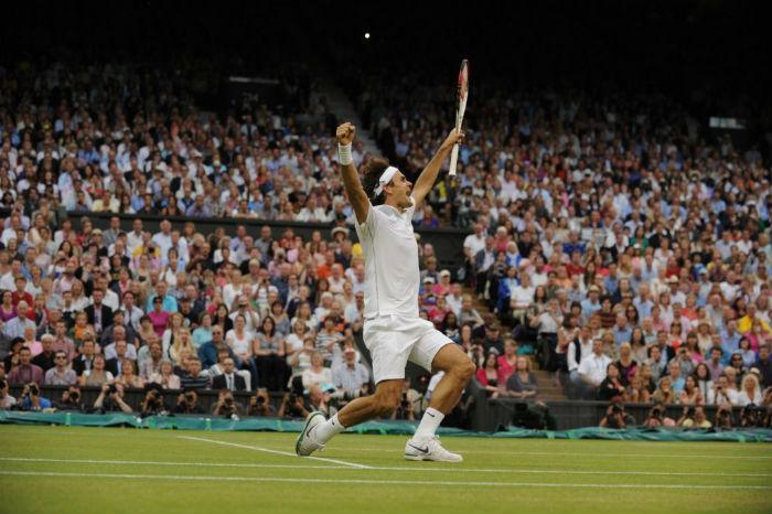 Federer winbledon 2012