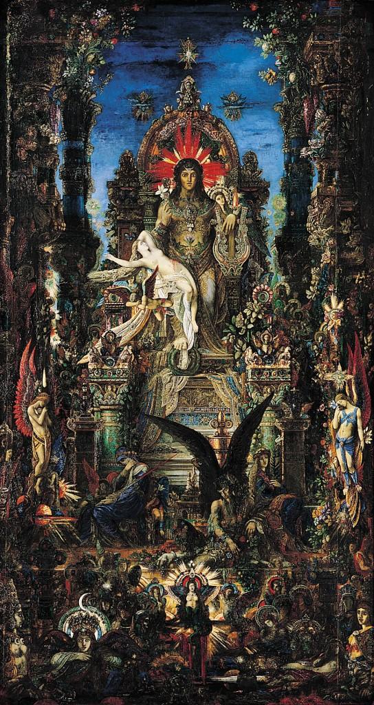 Sémele y Zeus de Moreau