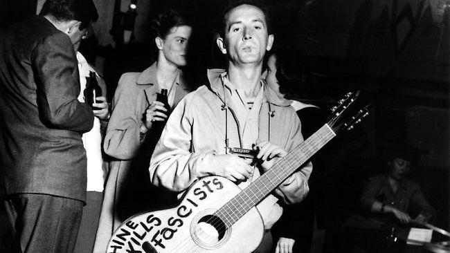 La tierra prometida de Woody Guthrie