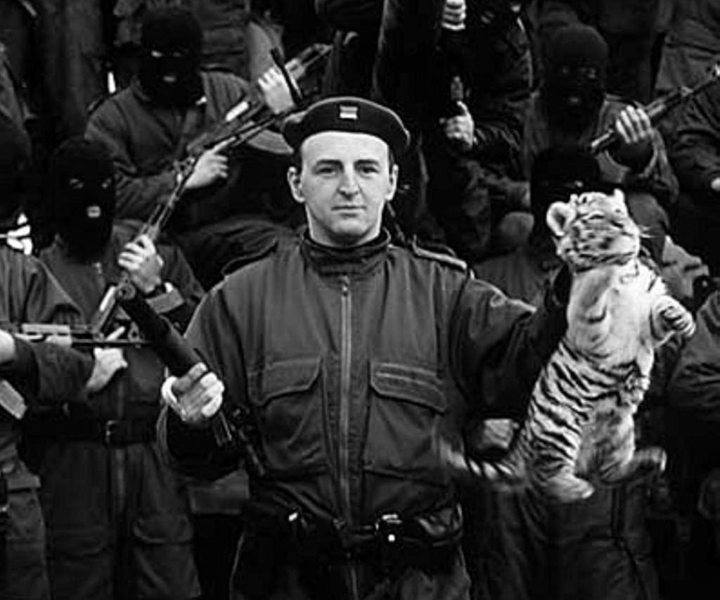Zelijko Raznatovic los tigres de Arkan