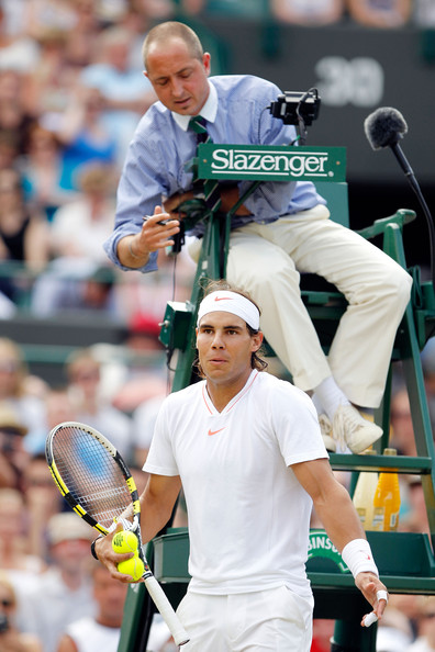 Pascal Maria y Rafa Nadal