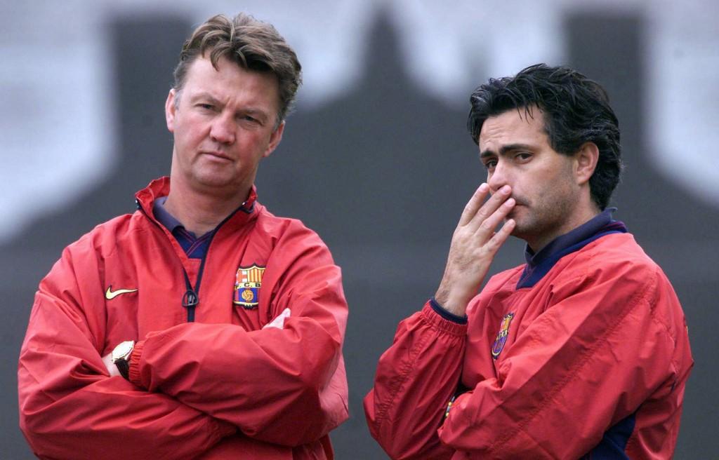 Van Gaal y Mourinho
