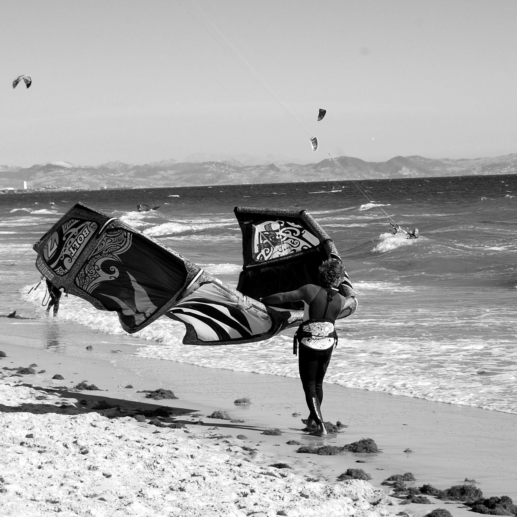 Valdevaqueros, el negocio del viento