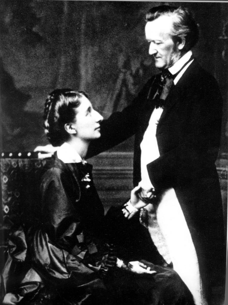 Cosima y Richard Wagner