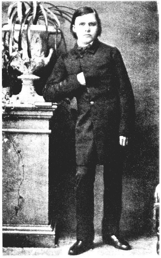 El joven Friedrich Nietzsche