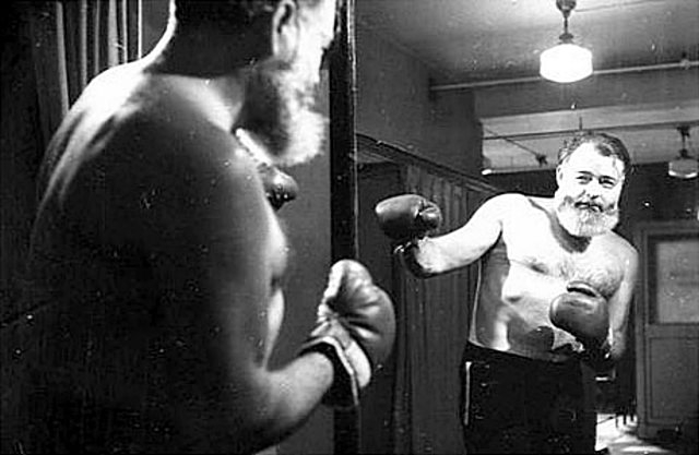 La saga de los escritores boxeadores