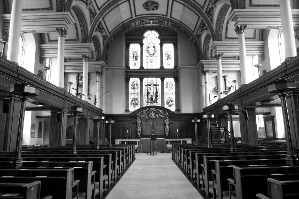 Interior St James Picadilly fotografía de Miguel Martínez Ferreira