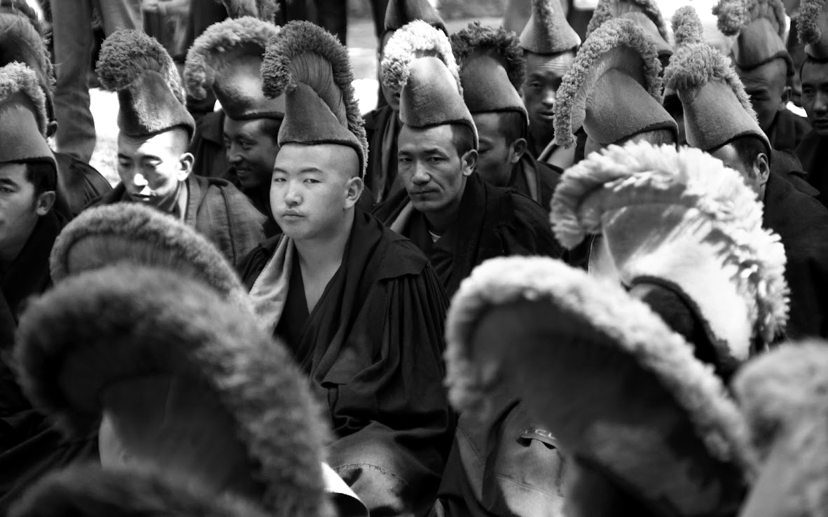 Tíbet a lo bonzo
