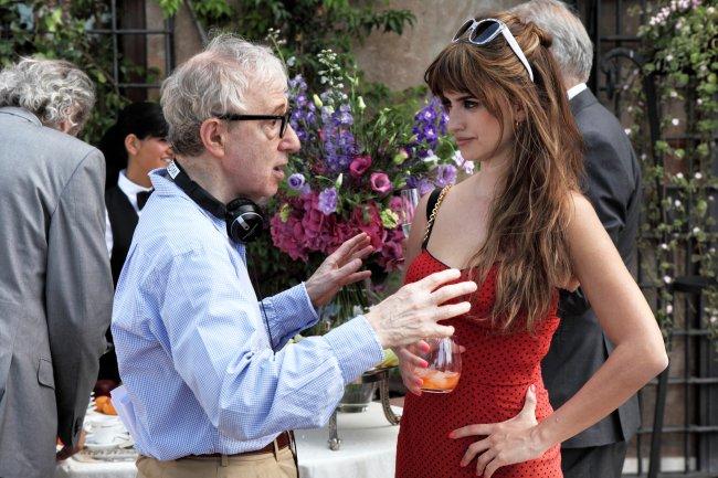 a roma con amor Woody Allen y Penélope Cruz