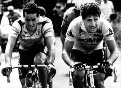 El Tour de 1987: 25 etapas y un prólogo de duelo Delgado-Roche