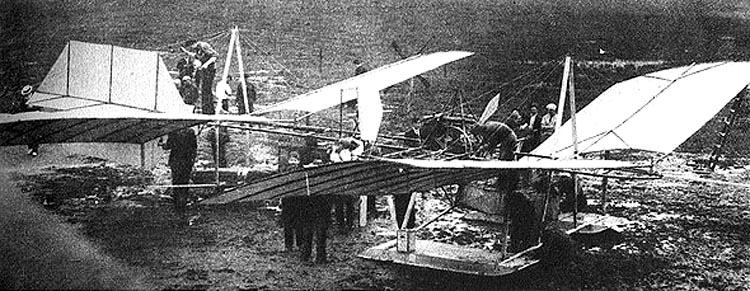 aeroplano de Samuel Pierpont Langley
