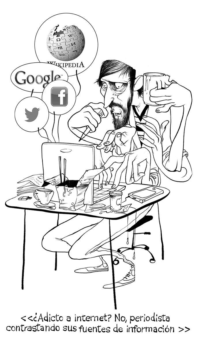 "Twittoons: ""¿Adictos a Internet?"""