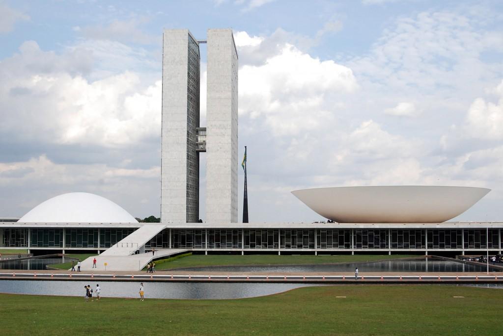 Congreso Nacional. Brasilia 1957 1960.Horacio Fernández del Castillo