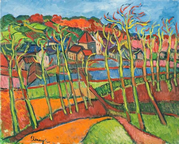 Elmyr de Hory Fauve Landscape