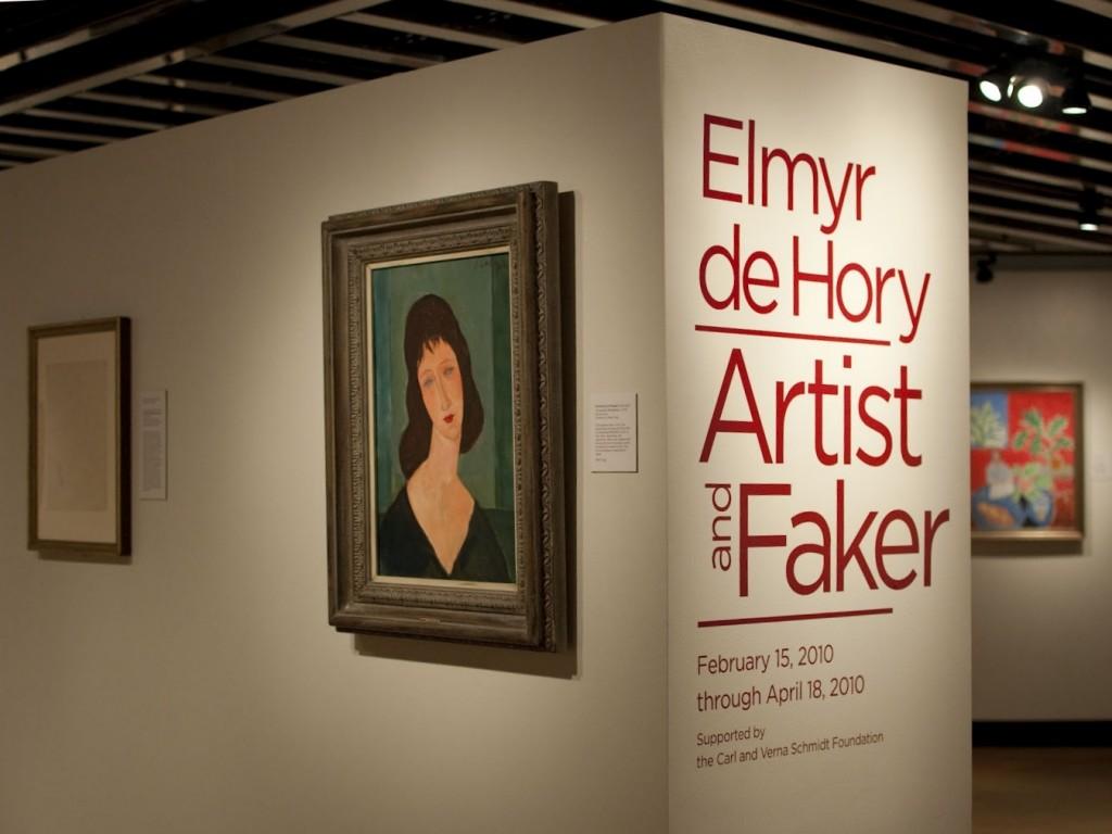 Elmyr de Hory artis or faker