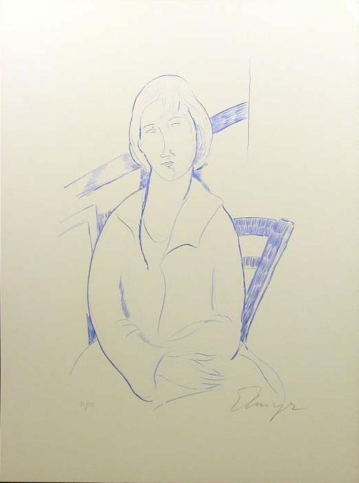 Elmyr de Hory homenaje Amedeo Modigliani