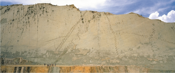 Les dinosaures de Cal Orcko Farall%C3%B3n-de-Cal-Orcko-Foto-Direcci%C3%B3n-de-Turismo-de-Sucre