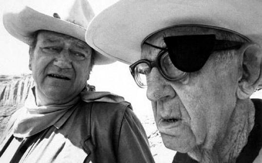 John Wayne y John Ford