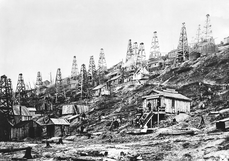 Pennsylvania Oil Fields 1865