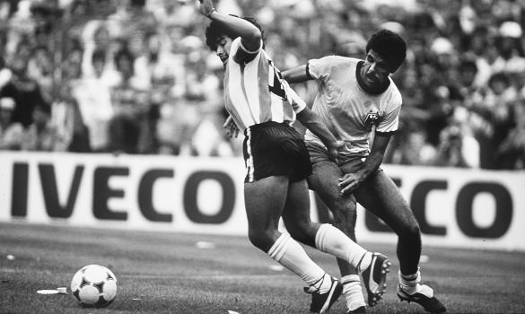 Toninho Cerezo y Maradona