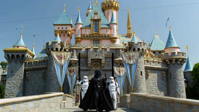 Vader Disneyland