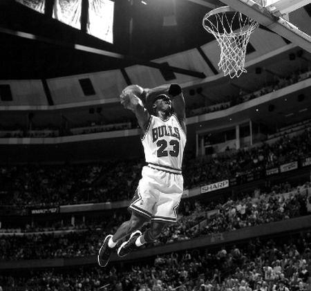 michael jordan basketball position