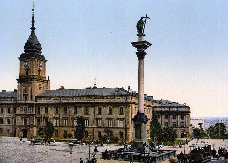El Castillo Real de Varsovia antes de la guerra