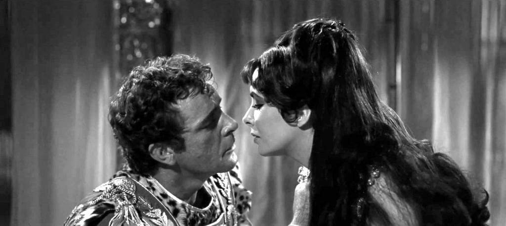 Elizabeth Taylor y Richard Burton 1