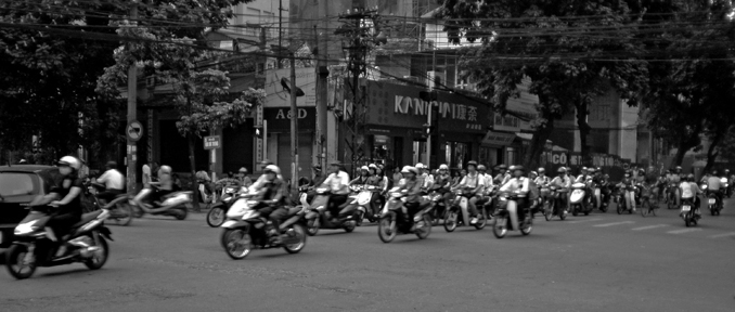 Motos por todas partes