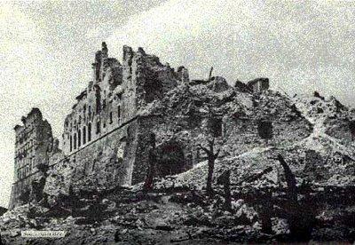 San Benito Monasterio de Montecassino derruido