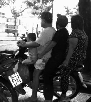 Vietnamitas motorizados
