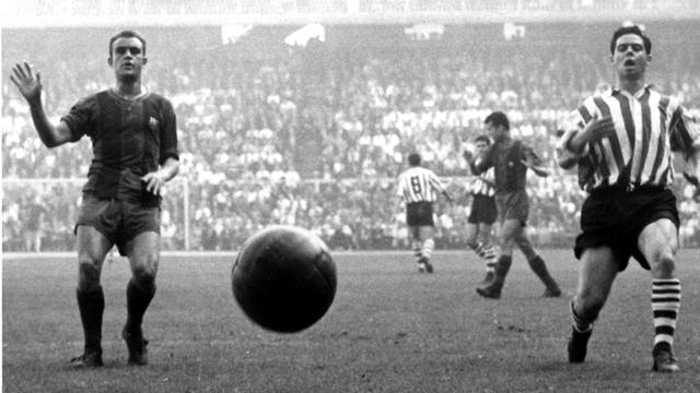 Barcelona- Athletic 1958