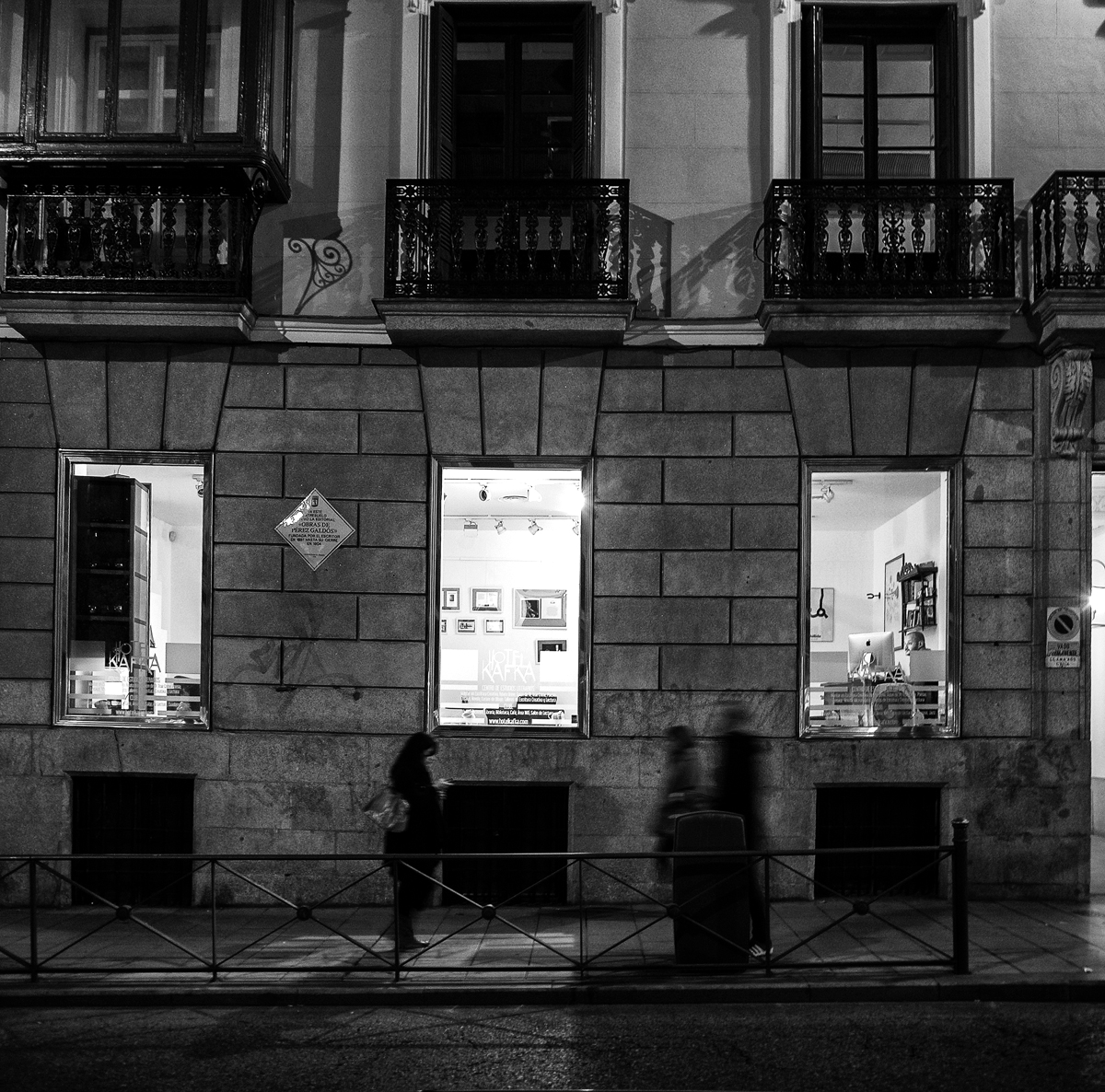 Librerías con encanto: La Librería del Hotel Kafka (Madrid)