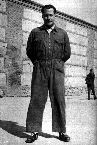 José Antonio Primo de Rivera en la cárcel