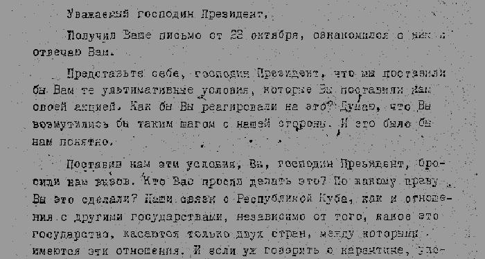 Kruschev a Kennedy