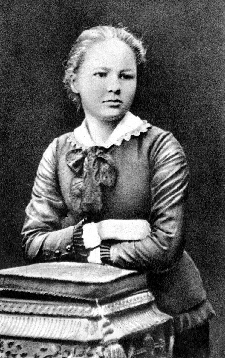 Marie Sklodowska a los 16 años