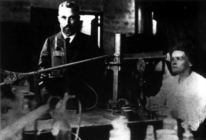 Marie y Pierre Curie 2