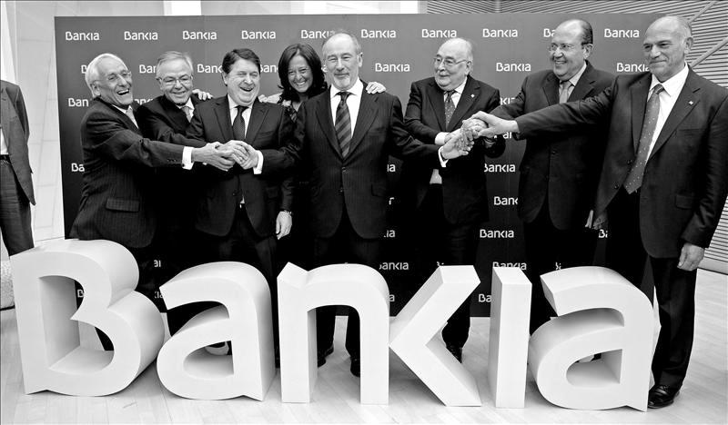 Rato en Bankia