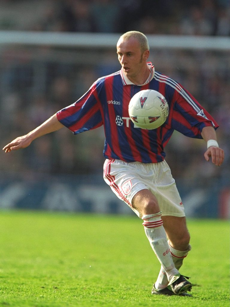 Sasa Curcic of Crystal Palace