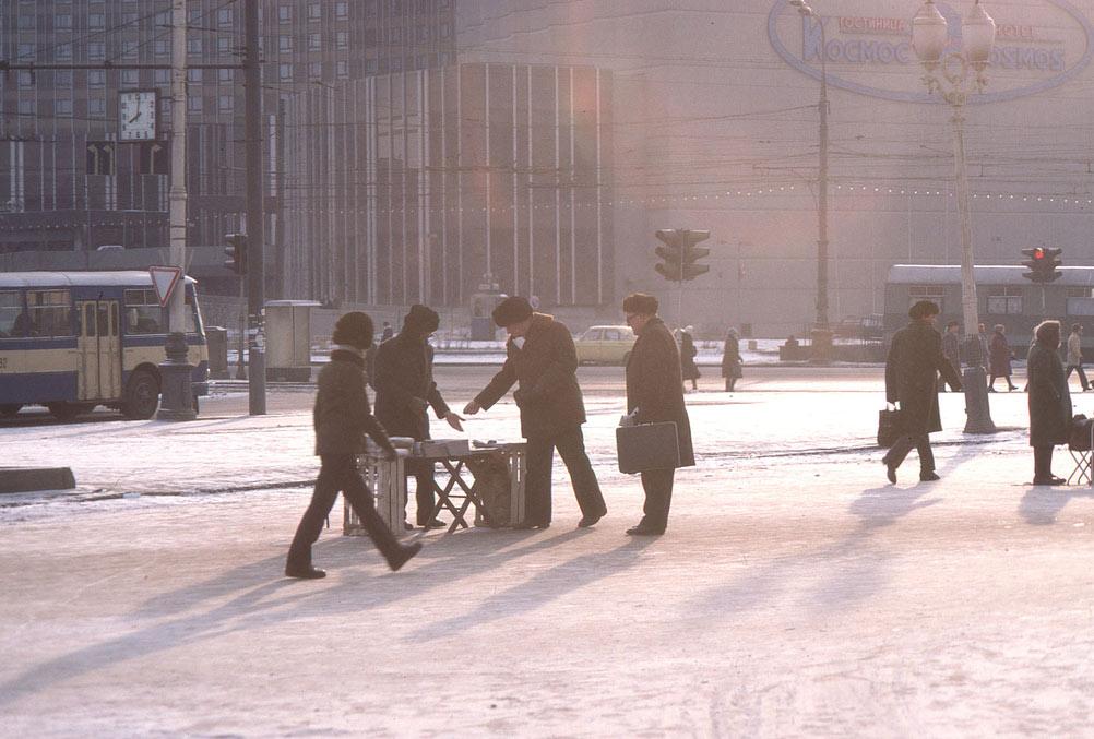 Moscú, 1985. Fotografía de Steve In Leighton (1)