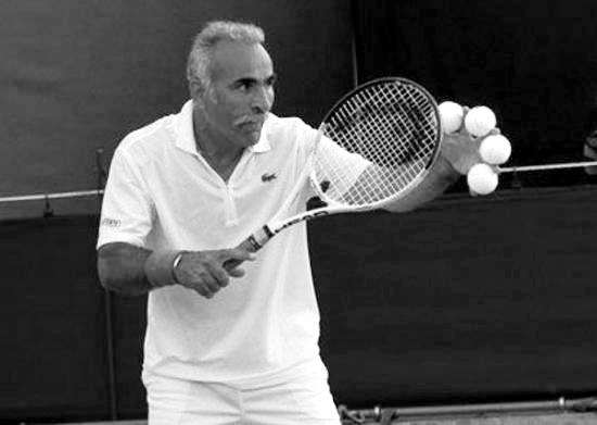 El genio de la raqueta que nunca ganó un torneo