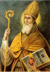 San Agustín defendía que el mal no existe, sino como mera ausencia del bien.