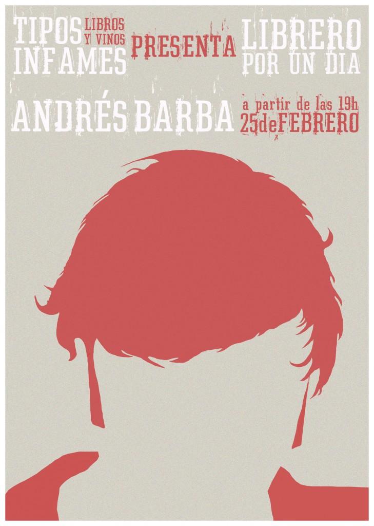 Andrés Barba-Librero por un día