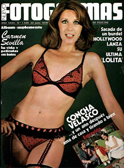 Concha Velasco podría haber encajado como princesa Leia.