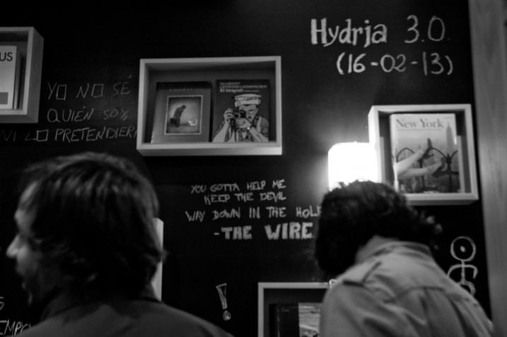 Librerías con encanto: Hydria 3.0, Libros-Café-Música-Cine (Salamanca)