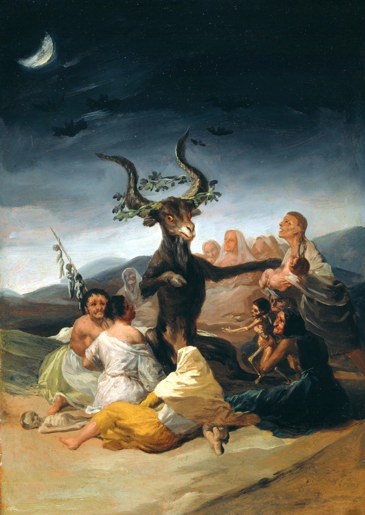 El aquelarre, de Goya