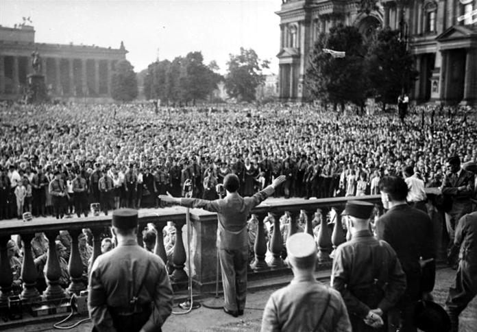 La propaganda de Goebbels durante la Segunda Guerra Mundial