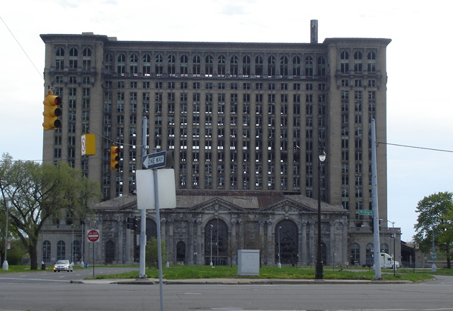 La Michigan Central Station, un monumento a los daños colaterales del capitalismo.