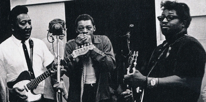 Muddy Waters y Bo Diddley