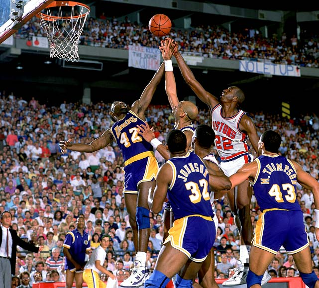 Pistons - Lakers 1988